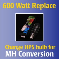 600 Watt Kit MH Replace | MH Kit Options | 600 Watt