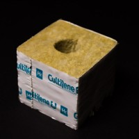 26mm Hole Wrapped Cultilene Cube 75mm x 75mm x 65mm Rockwool | Mediums | Hydroponic Mediums | Propagation & Cloning | Rooting Gel, Scalpels & Substrates