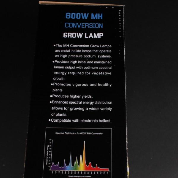 600 Watt M H Conversion Bulb Horticultural Bulbs Mh