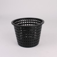 Black Wick 130mm | Pots, Trays & Planter Bags  | Pots | Wick Pots